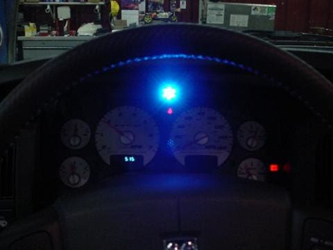 Raptor Shift Light Install-Ram Srt10