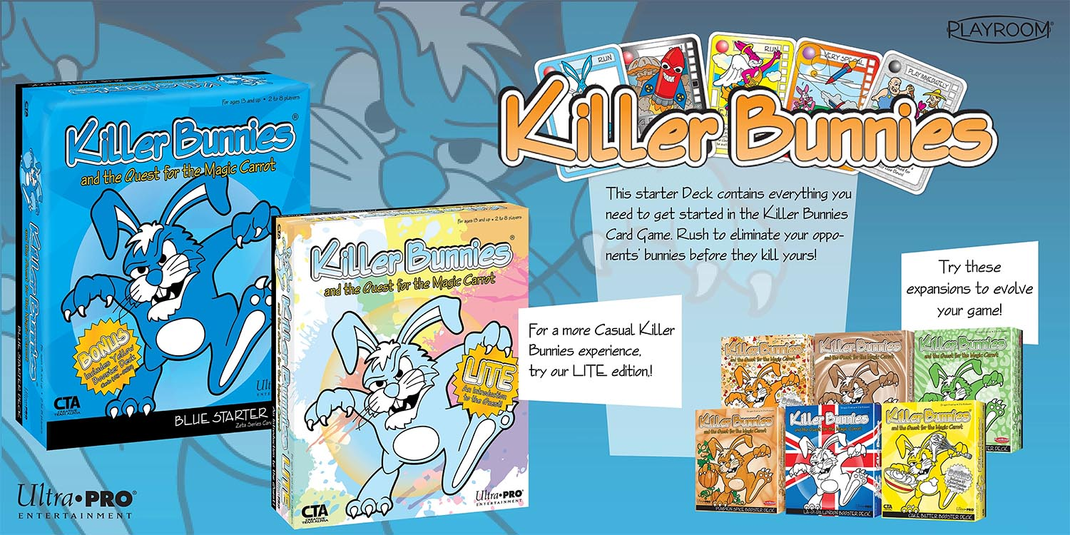 Ultra PRO - Killer Bunnies Card Game