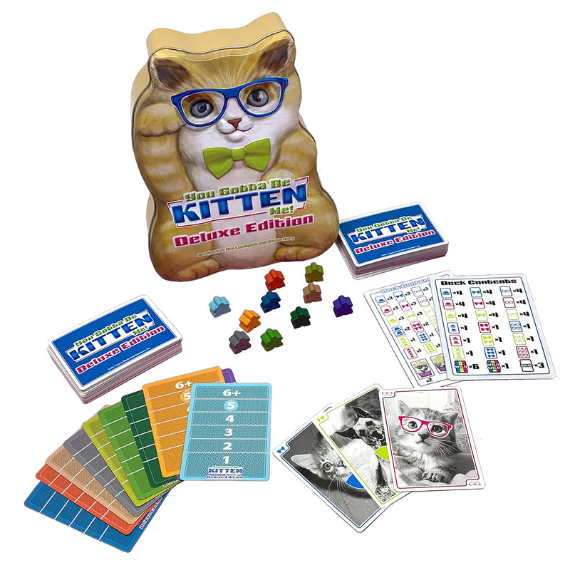 You Gotta Be Kitten Me! Deluxe Edition for Ages 10 and Up