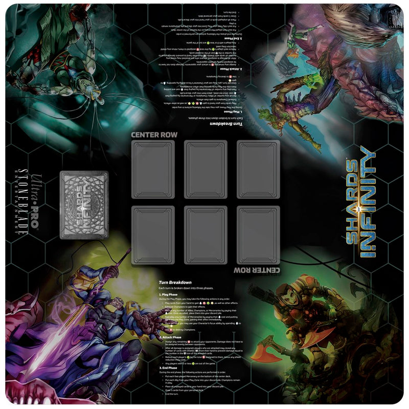 "Shards of Infinity 24"" x 24"" Gaming Playmat - Ultra PRO International"