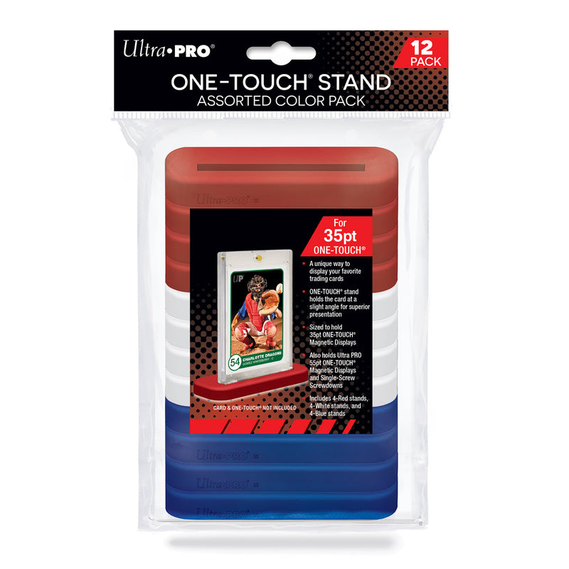 ONE-TOUCH Stand 35pt Assorted Color 12-pack
