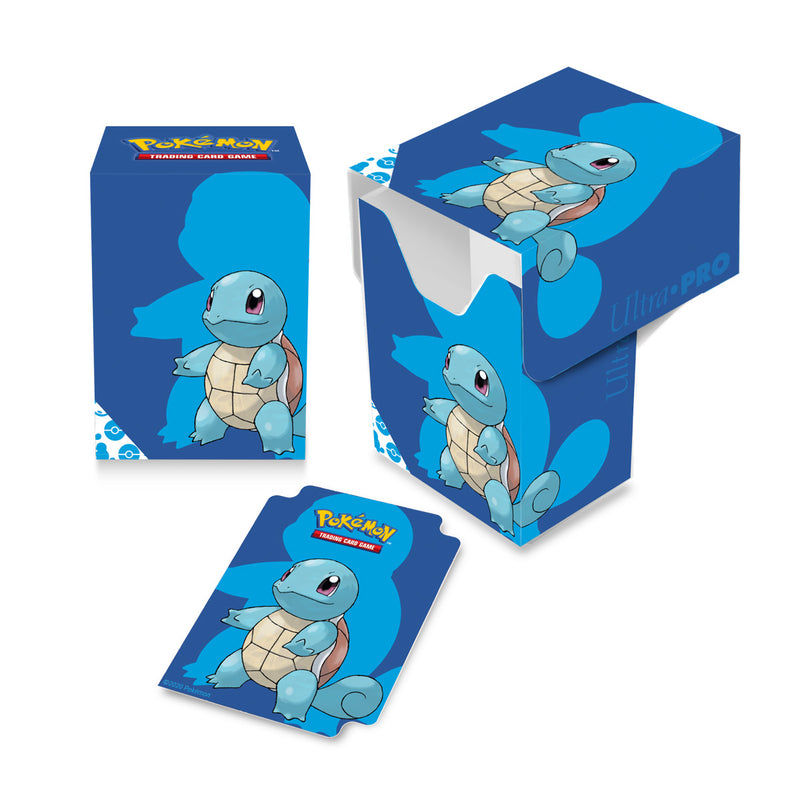 Squirtle Full View Deck Box for Pokémon