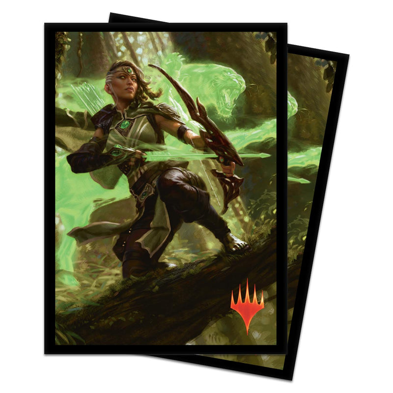 "Core Set 2020 ""Vivien, Arkbow Ranger"" Deck Protectors (100 ct.) for Magic: The Gathering - Ultra PRO International"
