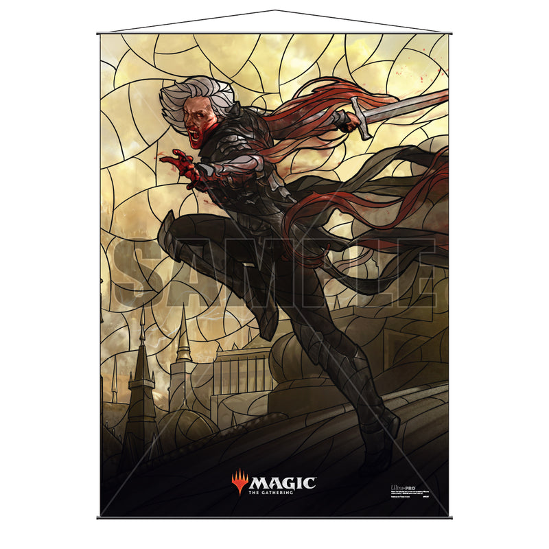 Magic: the Gathering - War of the Spark (WAR) Stained Glass Planeswalkers Wall Scroll Sorin - Ultra PRO International