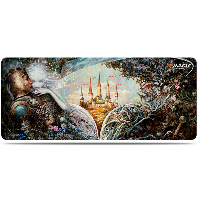 Throne of Eldraine Enchantment 6' Table Playmat for Magic the Gathering