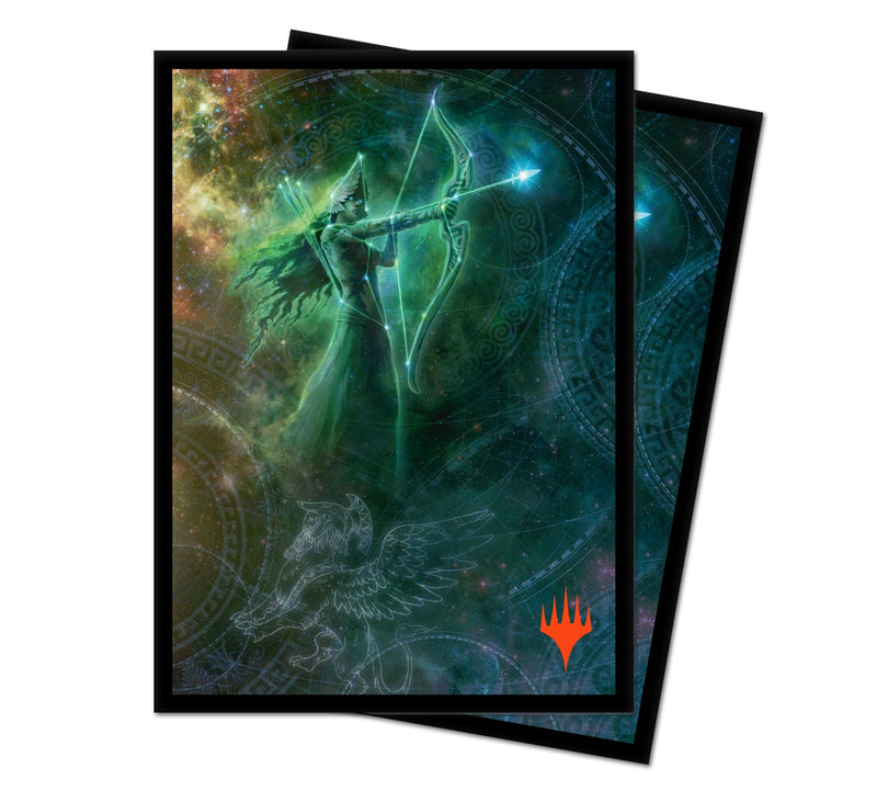 "Theros Beyond Death ""Nylea, Keen-Eyed"" Alt Art Deck Protectors (100 ct.) - Ultra PRO International"