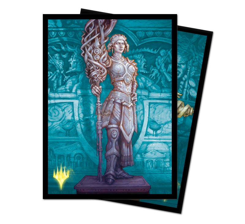"Theros Beyond Death ""Elspeth, Sun's Nemesis"" Alt Art Deck Protector Sleeves (100 ct.) - Ultra PRO International"
