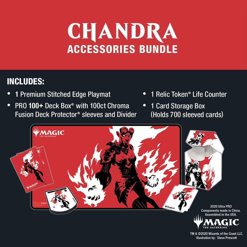 Chandra Accessories Bundle for Magic: The Gathering