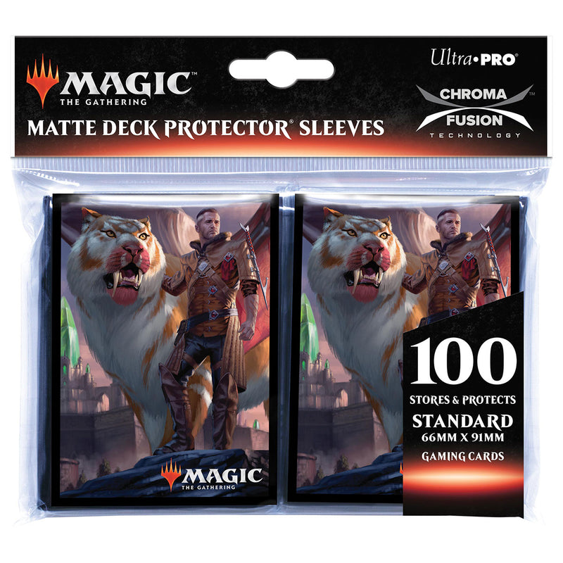 "Ikoria: Lair of Behemoths ""Lukka, Coppercoat Outcast"" Deck Protectors for Magic: The Gathering (100 ct.) - Ultra PRO International"