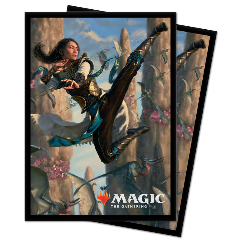 "Ikoria: Lair of Behemoths ""Narset of the Ancient Way"" Deck Protectors for Magic: the Gathering - Ultra PRO International"