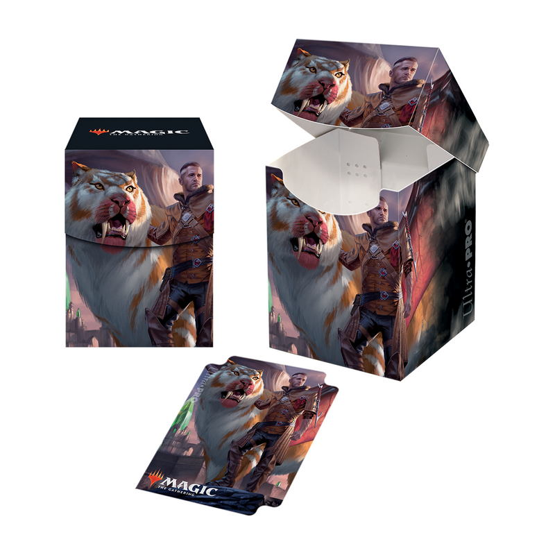 "Ikoria: Lair of Behemoths ""Lukka, Coppercoat Outcast"" PRO 100+ Deck Box for Magic: The Gathering"