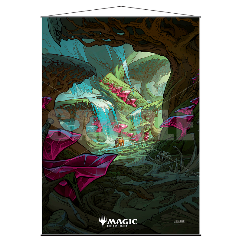 "Ikoria: Lair of Behemoths ""Zagoth Triome"" Wall Scroll for Magic: the Gathering - Ultra PRO International"