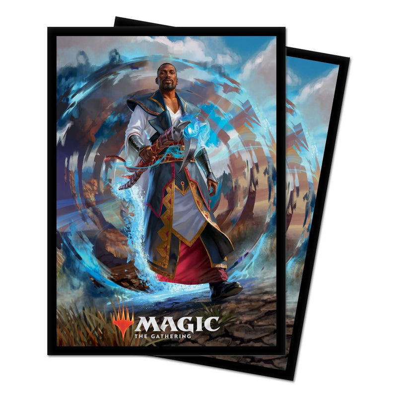 "M21 ""Teferi, Master of Time"" Deck Protector Sleeves for Magic: The Gathering - Standard (100 ct.) - Ultra PRO International"