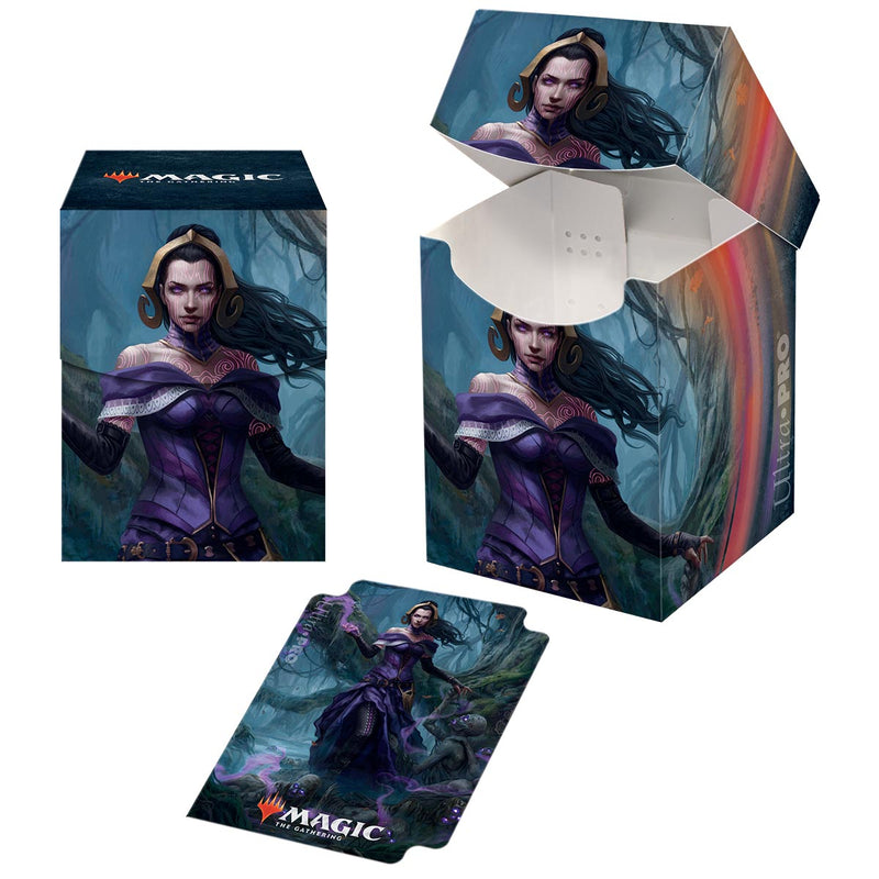 "M21 ""Liliana, Waker of the Dead"" PRO 100+ Deck Box for Magic: The Gathering - Ultra PRO International"