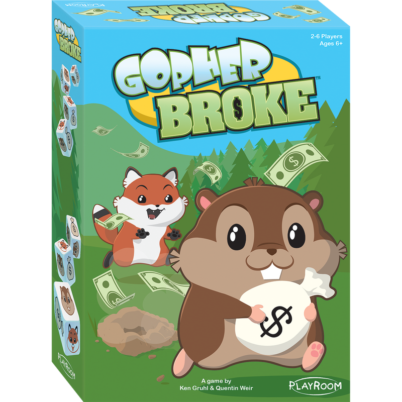 Gopher Broke: Kids Game for Ages 6 and Up