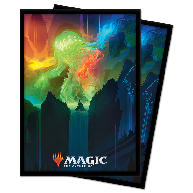 "Zendikar Rising ""Omnath, Locus of Creation"" Standard Sleeves"