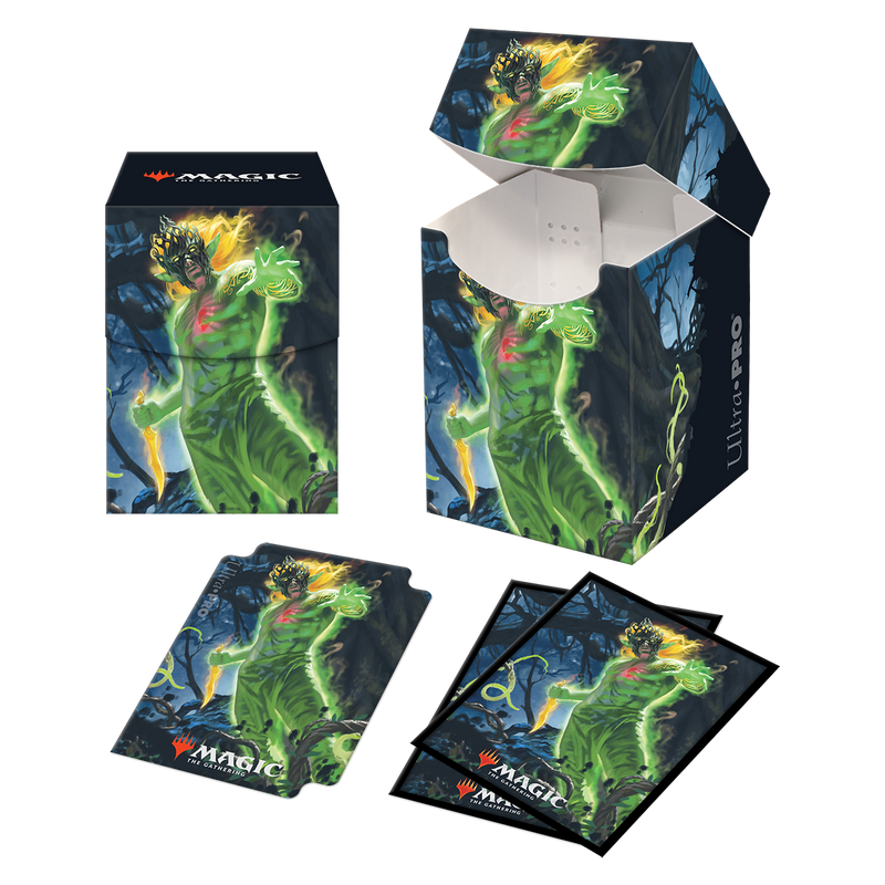 Zendikar Rising Obuun, Mul Daya Ancestor Combo PRO 100+ Deck Box and 100ct sleeves