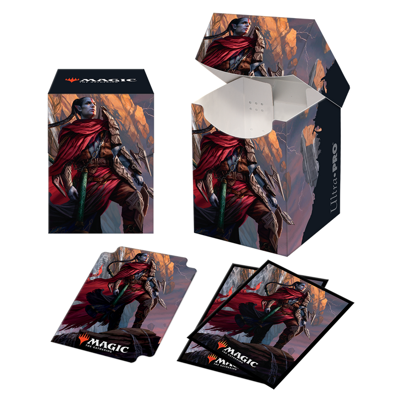 Zendikar Rising Anowon, the Ruin Thief PRO 100+ Deck Box & Deck Protector Combo (100 ct.)