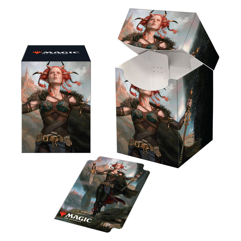 Commander Legends Jeska, Thrice-Reborn PRO 100+ Deck Box & Sleeves Combo