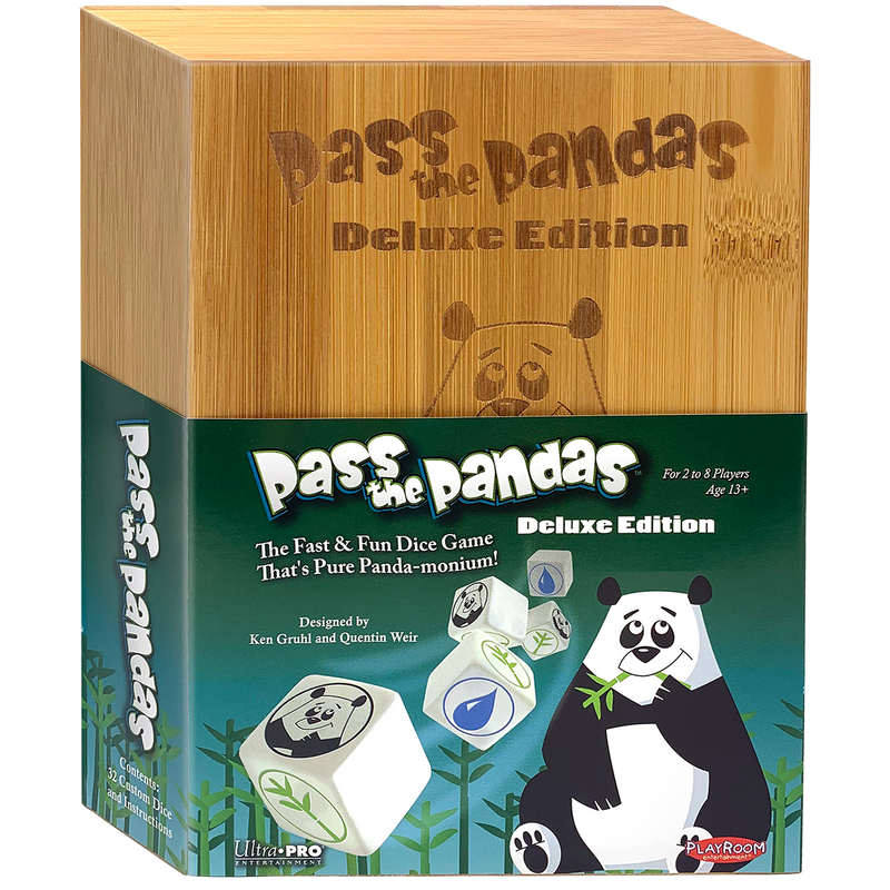 Pass the Pandas Deluxe Edition: Dice Game for Ages 6 and Up