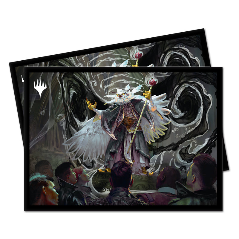Breena the Demagogue, Strixhaven Commander PRO 100+ Deck Box and 100ct Sleeves Featuring Silverquill for Magic: The Gathering