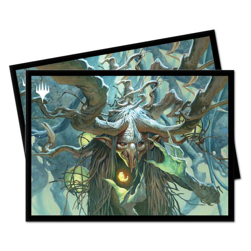 Willowdusk, Essence Seer, Strixhaven Commander PRO 100+ Deck Box and 100ct Sleeves Featuring Witherbloom for Magic: The Gathering