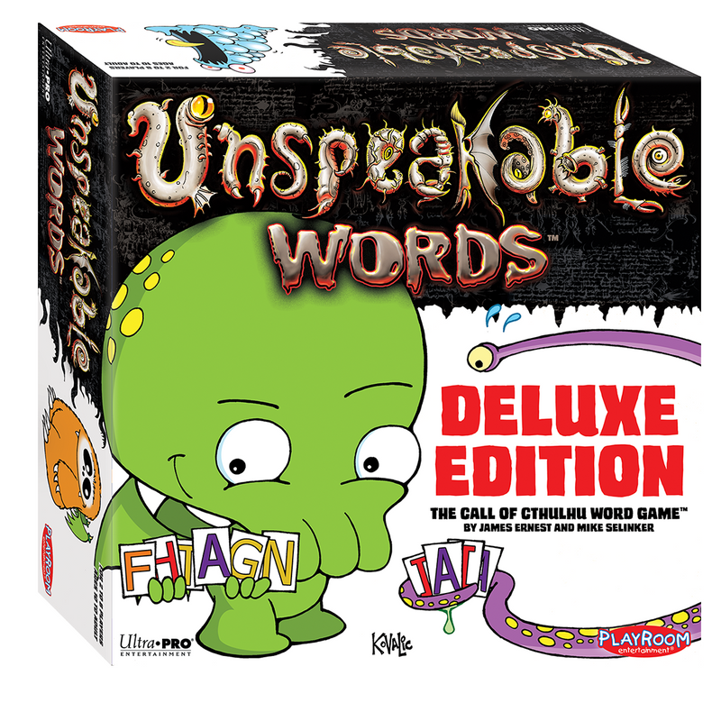 Unspeakable Words Deluxe Edition - Ultra PRO International