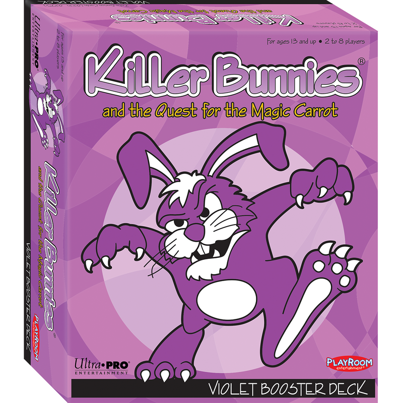 Killer Bunnies Quest Violet Booster - Ultra PRO International