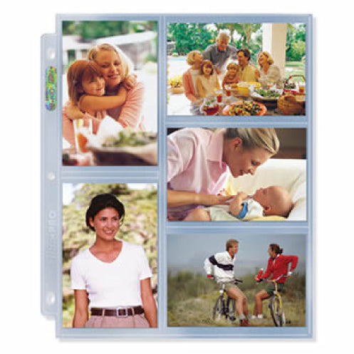 "3-Hole Photo Page Pack for 3.5"" x 5.25"" Prints"