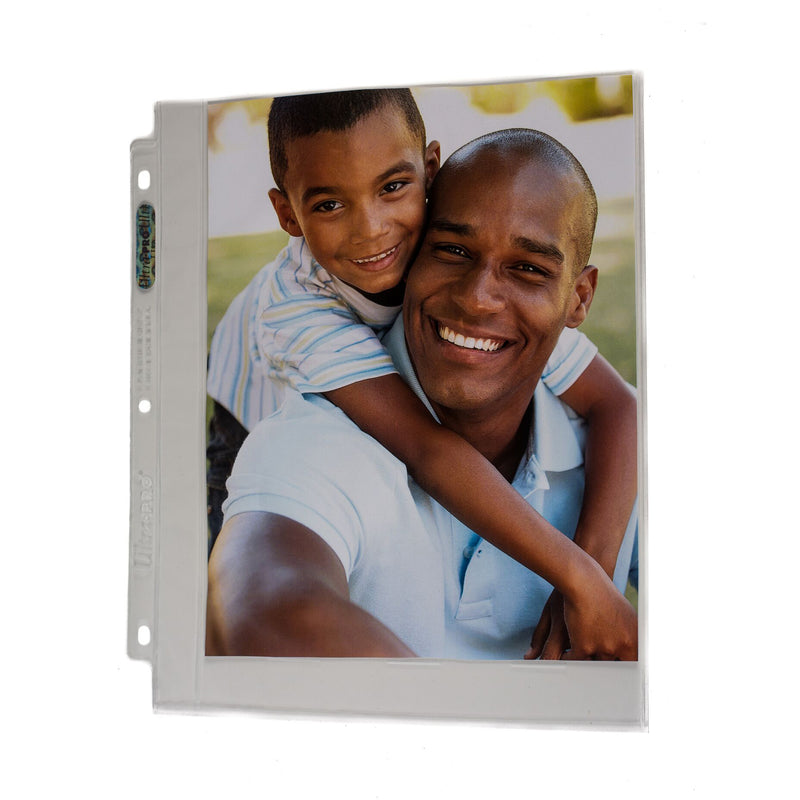 "3-Hole Clear 8"" x 10"" Photo Page - Ultra PRO International"