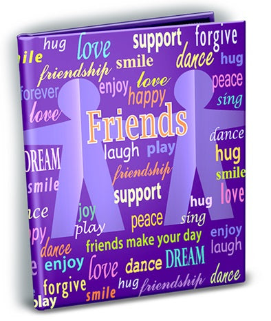 Friends Theme 4x6 Mini Photo Album - Ultra PRO International