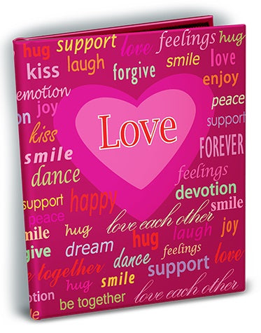 Love Theme 4x6 Mini Photo Album - Ultra PRO International