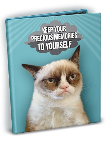 Grumpy Cat - Memories 4x6 Mini Photo Album with Sticker Sheets - Ultra PRO International