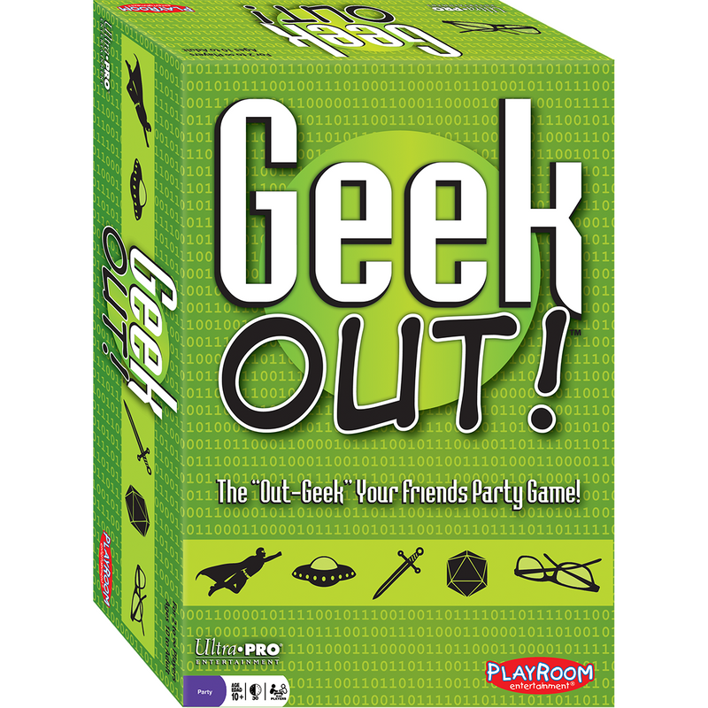 "Geek Out! - The ""Out-Geek"" Your Friends Party Game - Ultra PRO International"