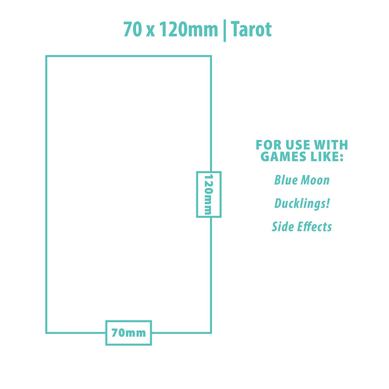 Tarot Card 70mm x 120mm Ultra Pro 84441 UP Board Game Sleeves