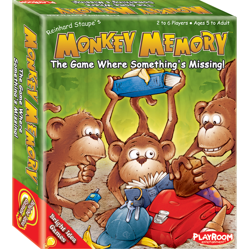 Monkey Memory - The Game Where Something's Missing - Ultra PRO International