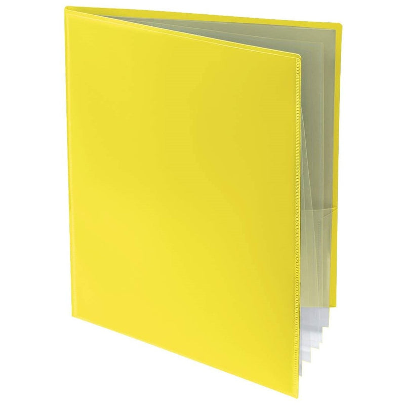 2-Pocket Folder with 6 Clear Pages (10 ct.)