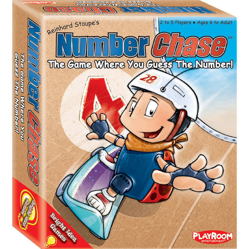 Number Chase - A Game Where You Guess the Number! - Ultra PRO International