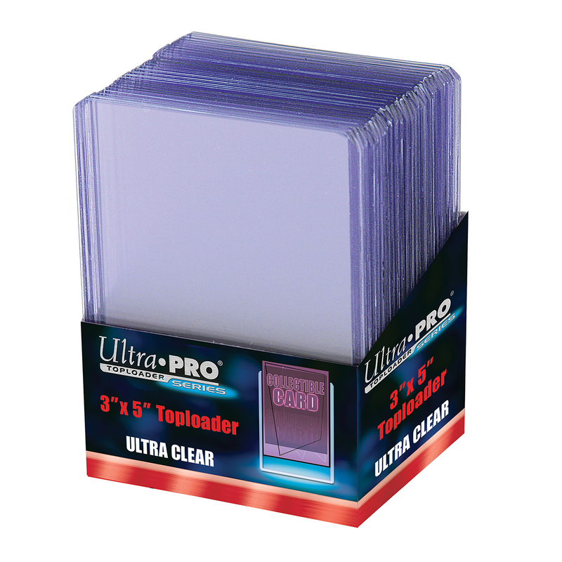 "3"" X 5"" Toploader 25ct - Ultra PRO International"