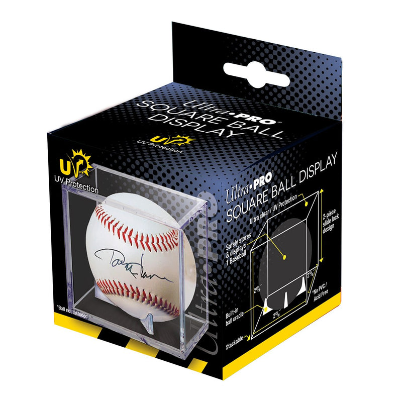 Baseball Clear Square UV Holder - Ultra PRO International