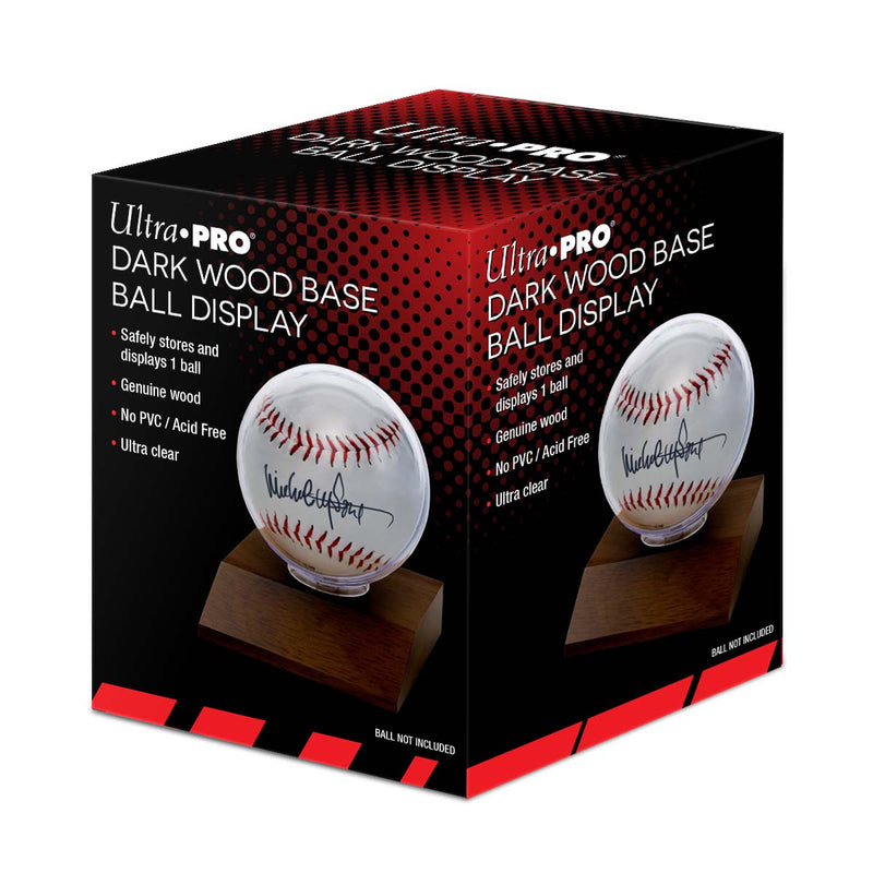 Baseball Dark Wood Holder - Ultra PRO International