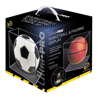 Basketball Clear Square UV Holder - Ultra PRO International