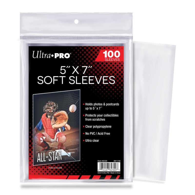 "5"" X 7"" Sleeves - Ultra PRO International"