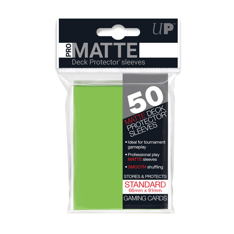 PRO-Matte Standard Sized Deck Protector Sleeves (50 ct.) - Ultra PRO International