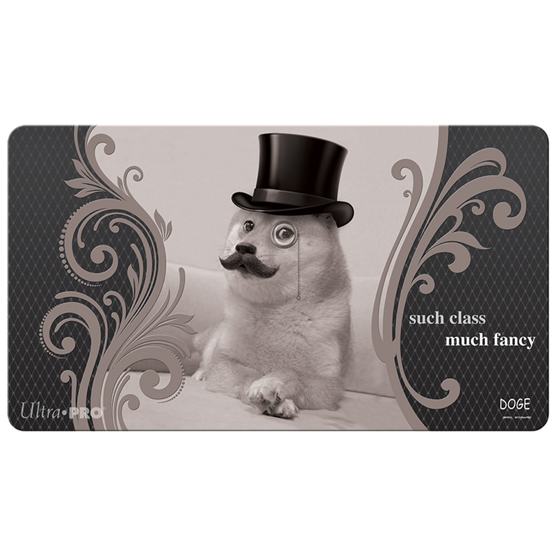 Doge Such Class! Much Fancy! Gaming Playmat - Ultra PRO International