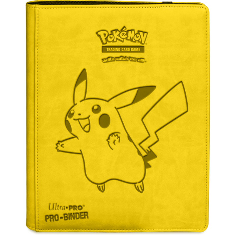 Pikachu 9-pocket Premium PRO-Binder for Pokémon