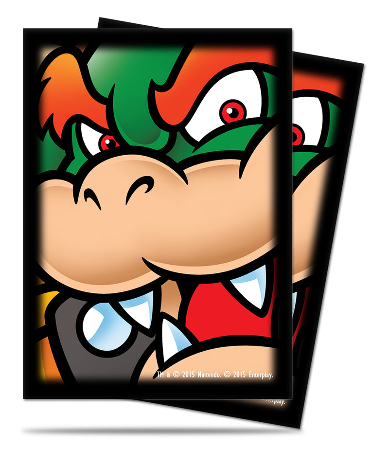 Super Mario: Bowser Deck Protectors (65 ct.) - Ultra PRO International