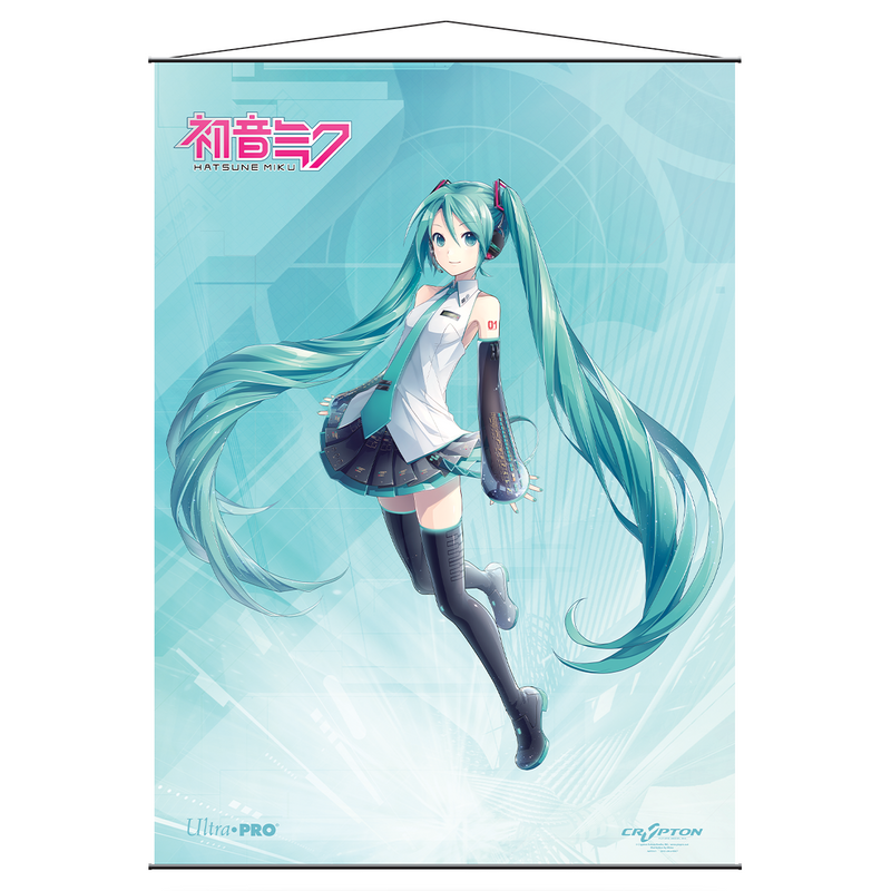 Hatsune Miku Wall Scroll - Original - Ultra PRO International