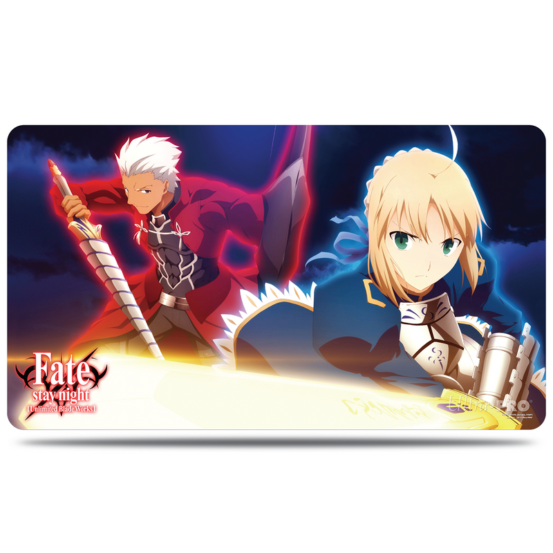 Fate/stay night Collection I Archer & Saber Gaming Playmat - Ultra PRO International
