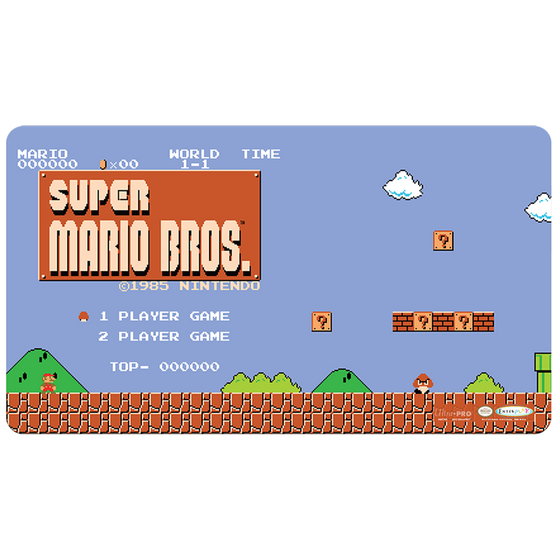 Super Mario: Level 1-1 Gaming Playmat with Gaming Playmat Tube - Ultra PRO International